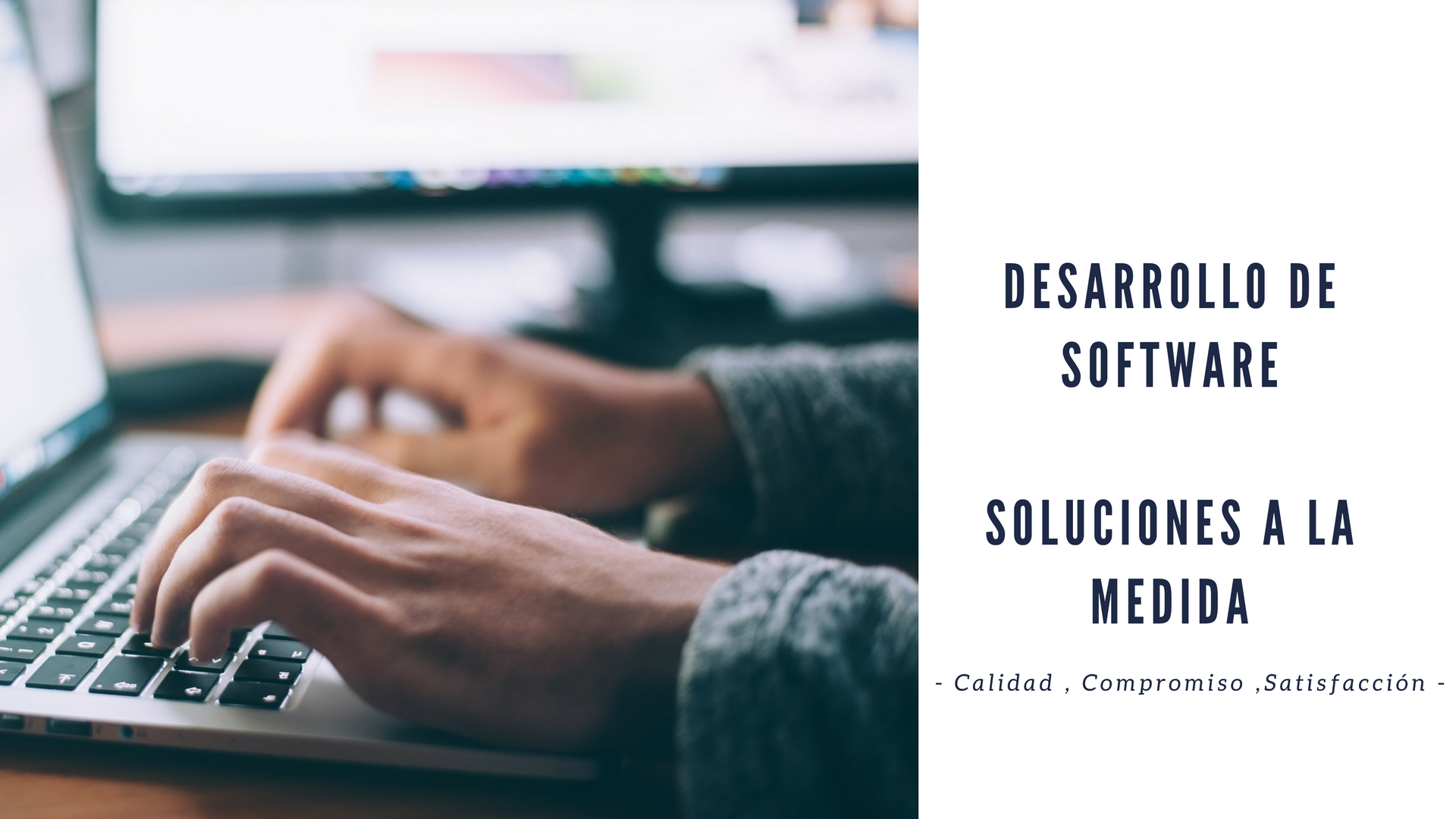 Desarrollo de SoftwareSoluciones a la medida